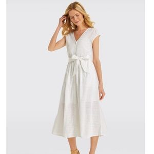 Draper James Collection Eyelet Button Front Dress